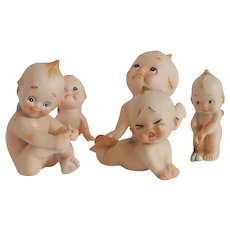 Five Kewpie Figurines