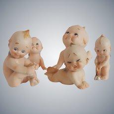 Five Kewpie Figurines
