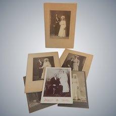 Six Old Wedding Photographs