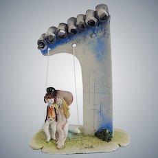 Lino Zampiva Couple Italian Figurine