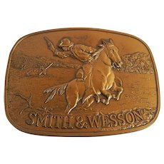 Smith & Wesson Western Belt Buckle