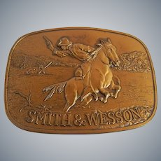 Smith & Wesson Western Belt Buckle