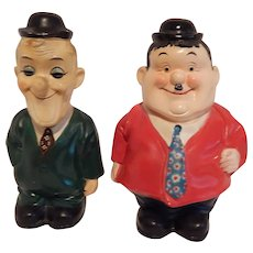 Laurel and Hardy  Ceramic  Coin Banks