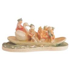 Sebastian Miniatures Swan Boat Boston Public Garden Figurine