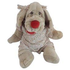 Graz Bros. Wrinkles Hound Dog Puppet