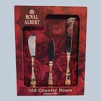 Old Country Roses Cheese Set Royal Albert