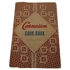 Vintage Carnation Cook Book By Mary Blake