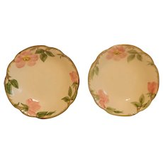 Two Franciscan Desert Rose Berry Bowls