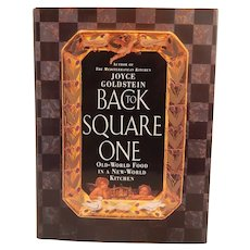 Joyce Goldstein Cookbook Back To Square One