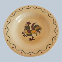 California Provincial Poppytrail Green Rooster by Metlox