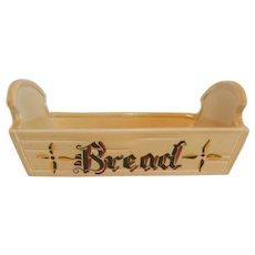 Metlox California Provincial Poppytrial Green Rooster Bread Dish