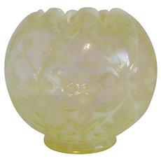 Northwood Glass Spanish Lace Rose Bowl