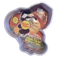 Wilton High Flyin' Witch Cake Pan