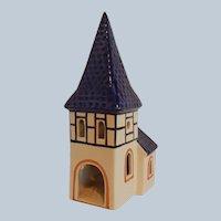 Ursula Leyk Tea Light Candle Holder Romantic Church House