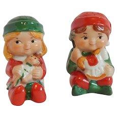 Avon Children Salt and Pepper Shakers