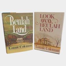 Three Lonnie Coleman Hard Cover Books