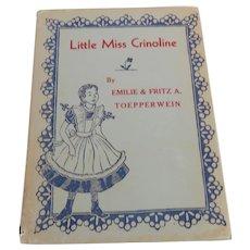 Little Miss Crinoline By Fritz Toepperwein