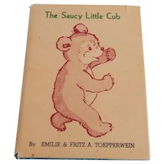 The Saucy Little Cub by Fritz Toepperwein