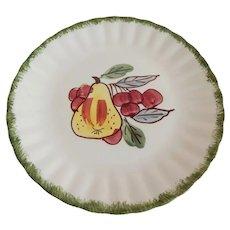 Blue Ridge Hand Painted Fruit Design Plate