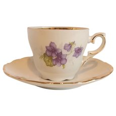 Schumann Arzberg Germany Demitasse Cup and Saucer
