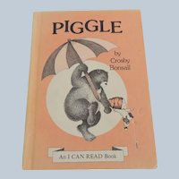Piggle By Crosby Bonsall An I Can Read Book