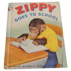 Elf Book Zippy Goes To School