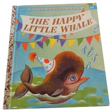 Little Golden Book The Happy Little Whale