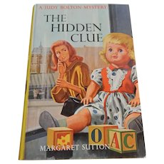Judy Bolton The Hidden Clue