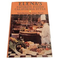 Elena's Favorite Foods California Style Cookbook