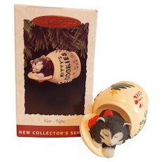 Hallmark Keepsake Cat Naps Ornament