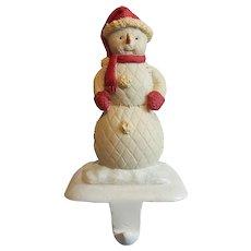 Hallmark Snowman Christmas Stocking Holder