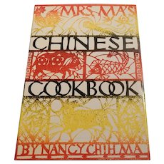 Mrs May's Chinese Cookbook by Nancy Chih Ma