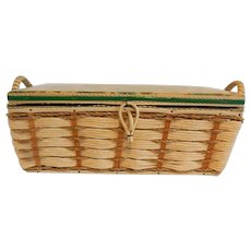 Sewing Basket Made In Japan