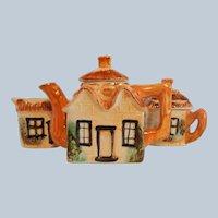 Japanese Cottage Ware Tea Set