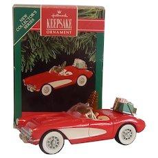 Hallmark 1957 Corvette Classic American Cars Ornament