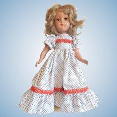 """Vintage 14"""" Hard Plastic Doll"""