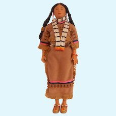 Lauging Brook Comanche Princess by Sandy Dolls