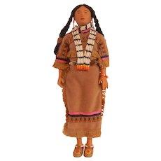 Lauging Brook Comanche Princess by Sandy Dolls