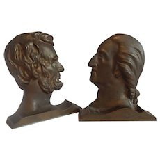 ABraham Lincoln and George Washington Bookends