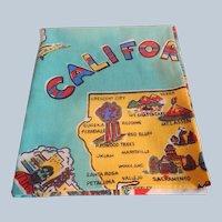 California State Souvenir Tablecloth