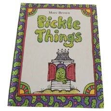 Pickle Things by Marc Brown Parents Magazine Press