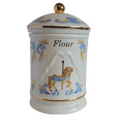 Carousel Flour Canister by Lenox