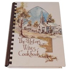The Pastors Wives Cookbook by Sybil Dubose 1978