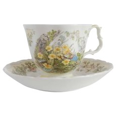 Royal Doulton Brambly Hedge Spring Tea Cup and Saucer