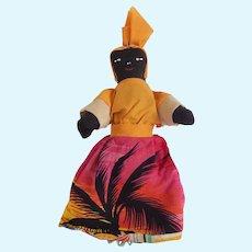 Jamaican Souvenir Topsy Turvy Doll