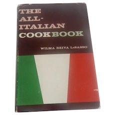 The All-Italian Cookbook by Wilma Reiva LaSasso