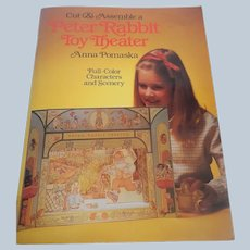 Cut & Assemble a Peter Rabbit Toy Theater by Anna Pomaska