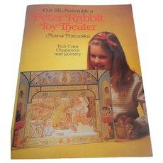 Cut & Assemble a Peter Rabbit Toy Theater by Anna Pomaska