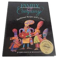 Family & Company Junior League Of Binghamton, New York Cookbook