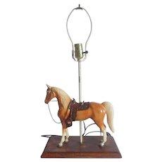 Breyer Western Palomino Horse Table Lamp